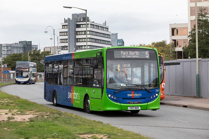 2767 YX17NHV, Swindon 28/9/2020