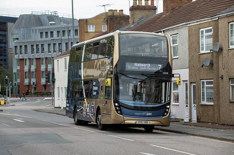 15348 YP67XBX, Swindon 28/9/2020