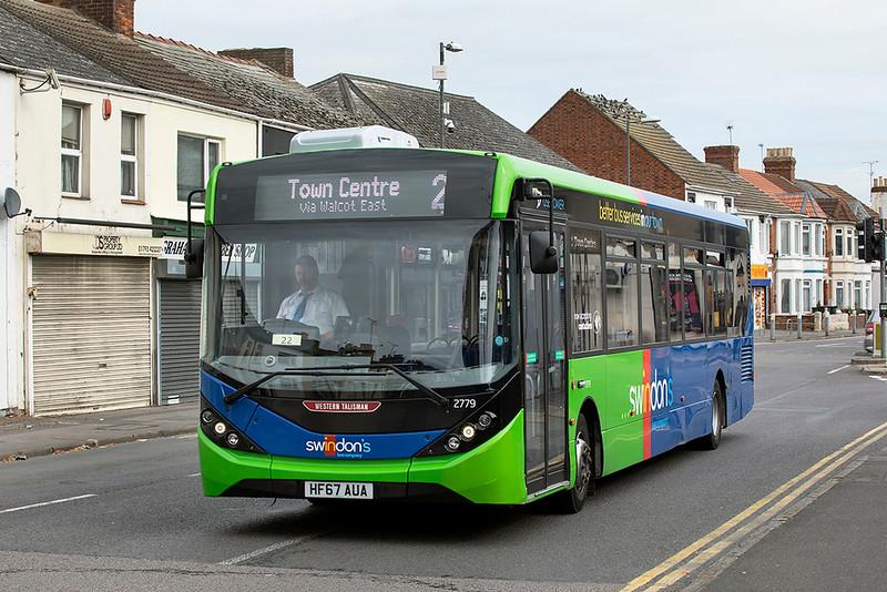 2779 HF67AUA, Swindon 28/9/2020