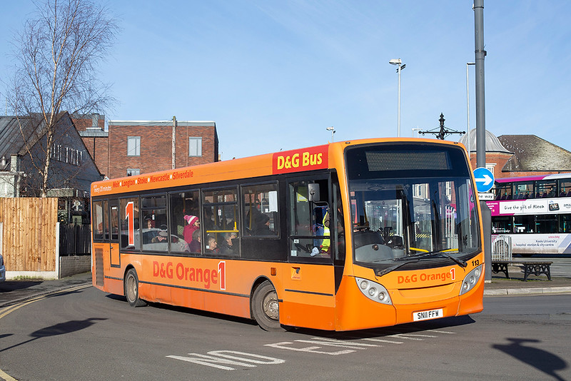 113 SN11FFW, Newcastle-under-Lyme 29/1/2020