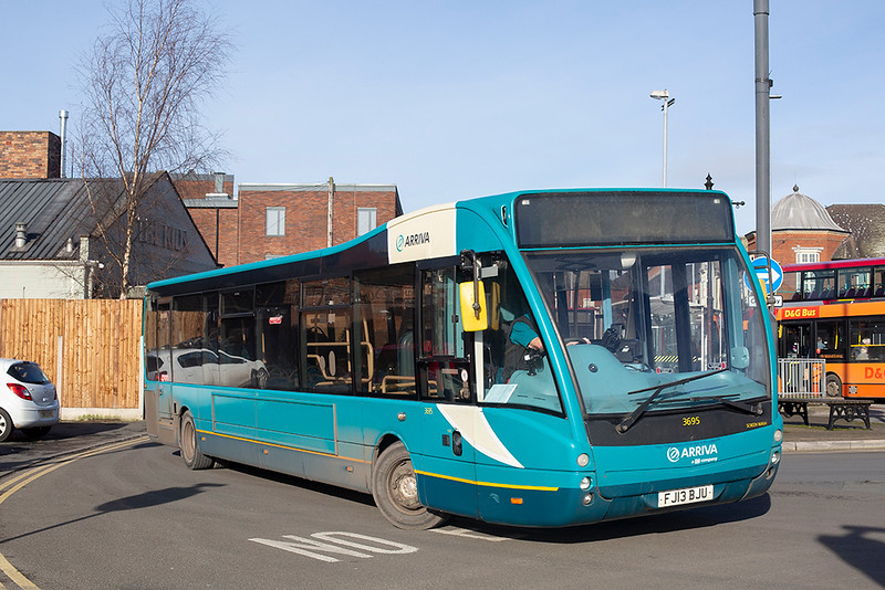 3695 FJ13BJU, Newcastle-under-Lyme 29/1/2020