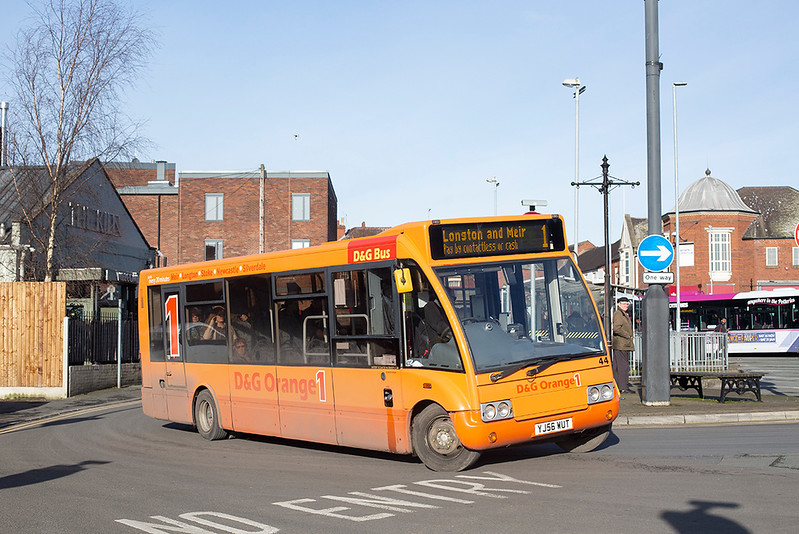 44 YJ56WUT, Newcastle-under-Lyme 29/1/2020