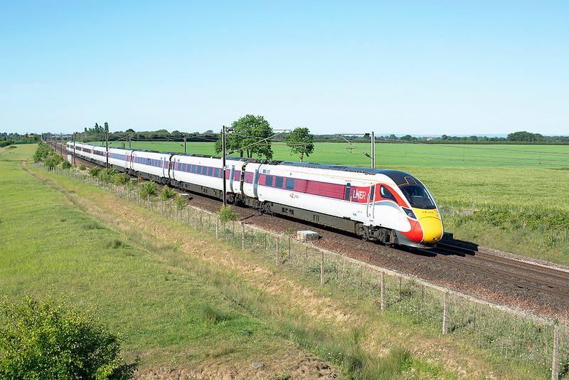 800105 Colton Junction 29/5/2020<br /> 1S26 1600 London Kings Cross-Edinburgh
