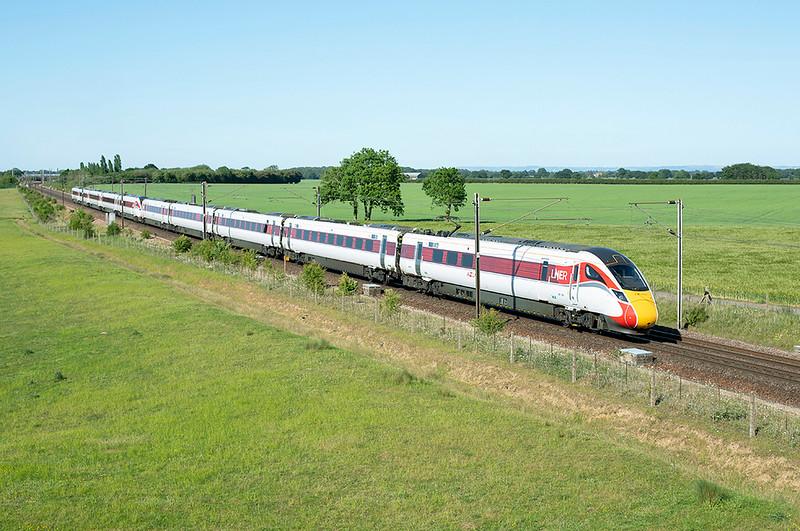 801108 and 801112, Colton Junction 29/5/2020<br /> 1N87 1506 London Kings Cross-York