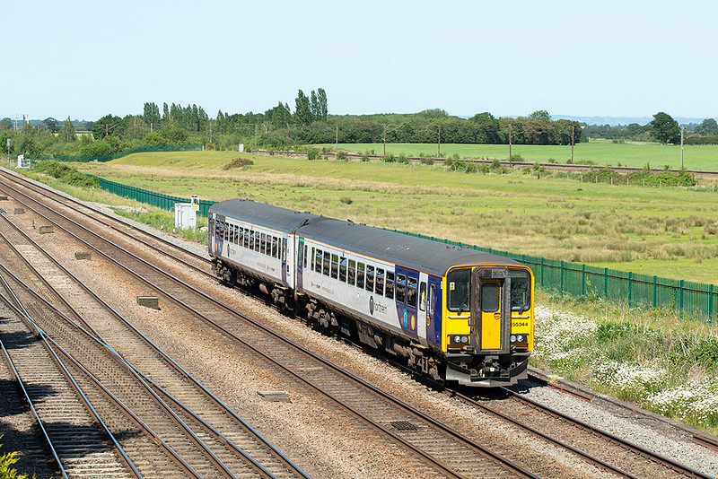 155344 Colton Junction 29/5/2020<br /> 2R21 1546 York-Hull