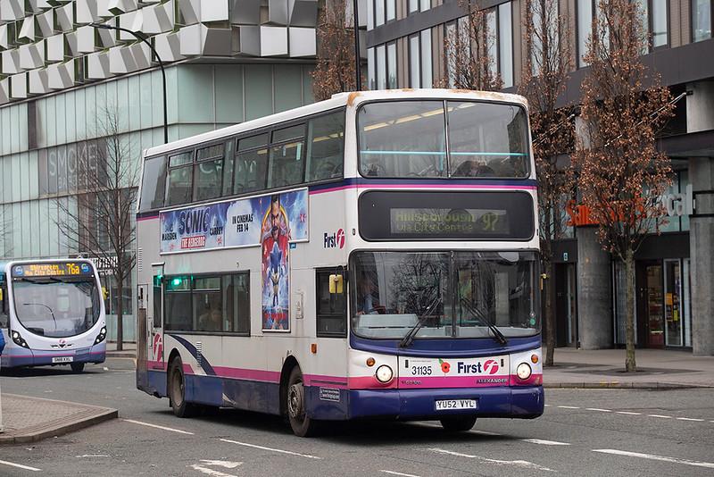 31135 YU52VYL, Sheffield 30/1/2020