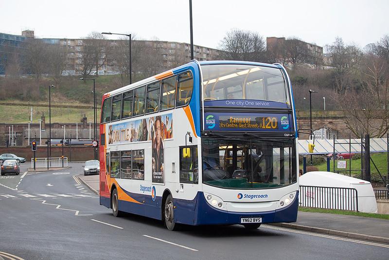 12169 YN62BVS, Sheffield 30/1/2020