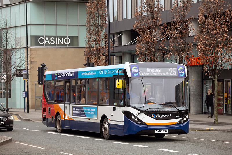 37604 YX69NWW, Sheffield 30/1/2020