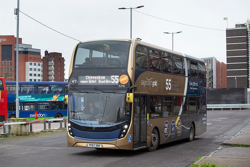 15346 YP67XBV, Swindon 31/1/2020