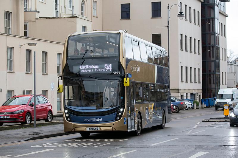 10996 SN18KVE, Cheltenham Spa 31/1/2020