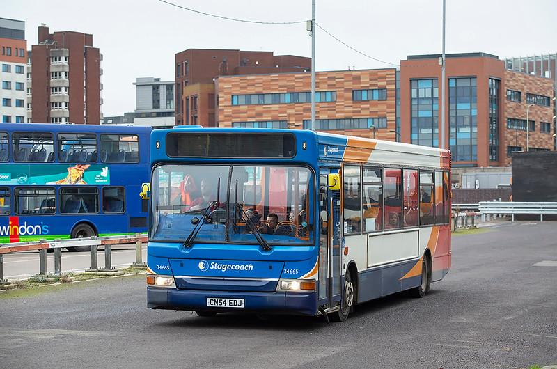 34665 CN54EDJ, Swindon 31/1/2020