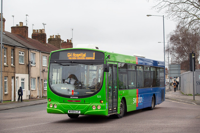 523 WX59GJF, Swindon 31/1/2020