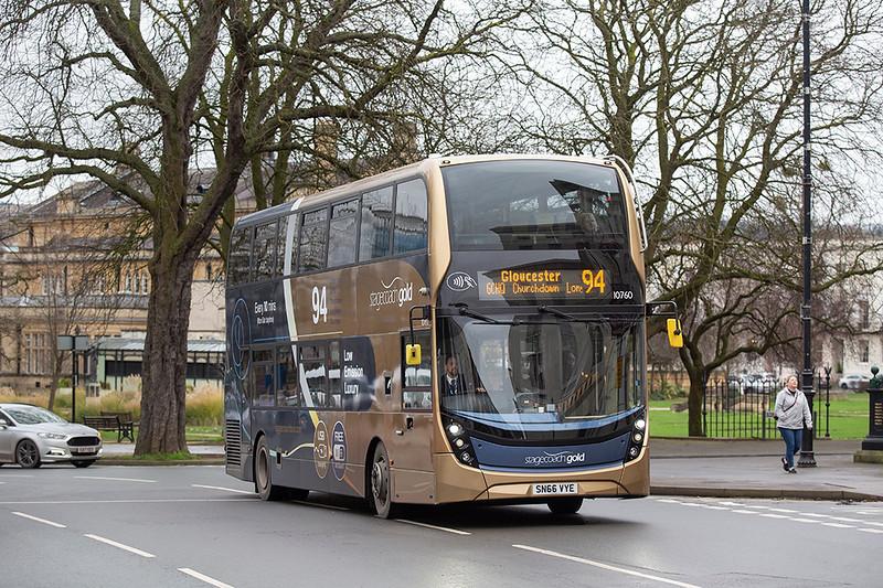10760 SN66VYE, Cheltenham Spa 31/1/2020