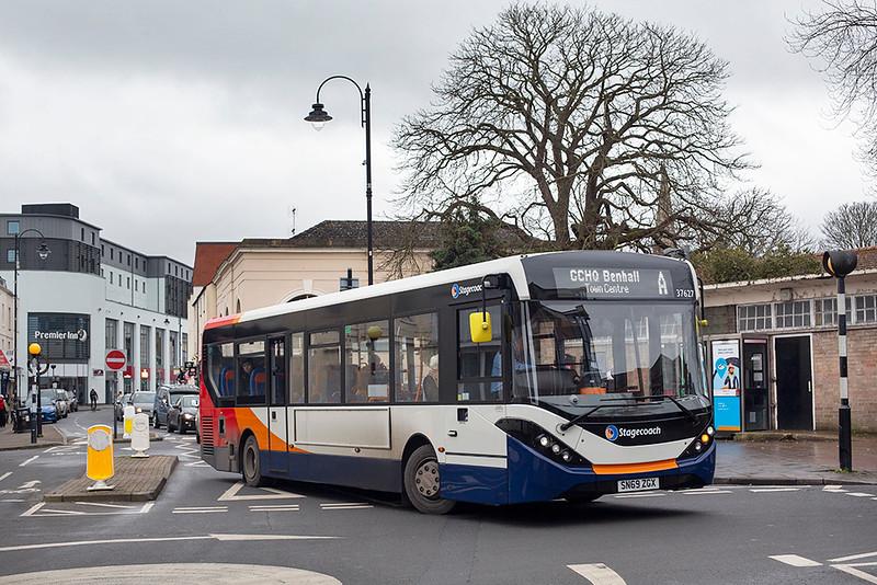 37627 SN69ZGX, Cheltenham Spa 31/1/2020