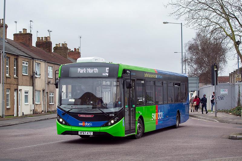 2778 HF67ATZ, Swindon 31/1/2020