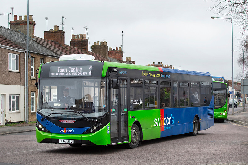 2773 HF67ATO, Swindon 31/1/2020