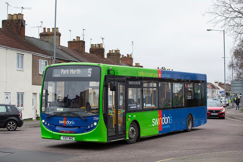 2769 YX17NHZ, Swindon 31/1/2020