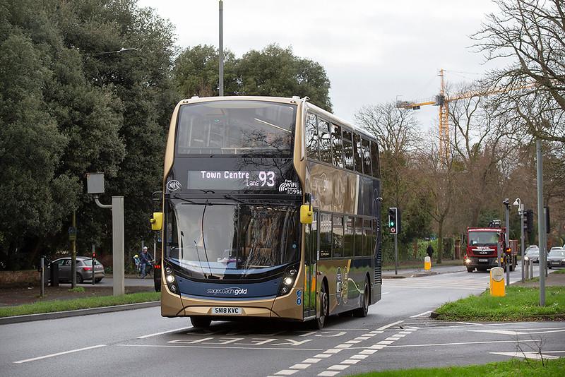 10994 SN18KVC, Cheltenham Spa 31/1/2020