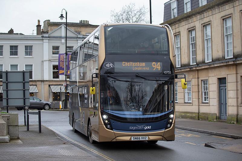 10755 SN66VXZ, Cheltenham Spa 31/1/2020