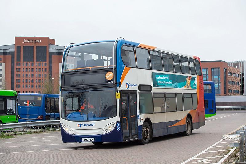 15736 VX61FKK, Swindon 31/1/2020
