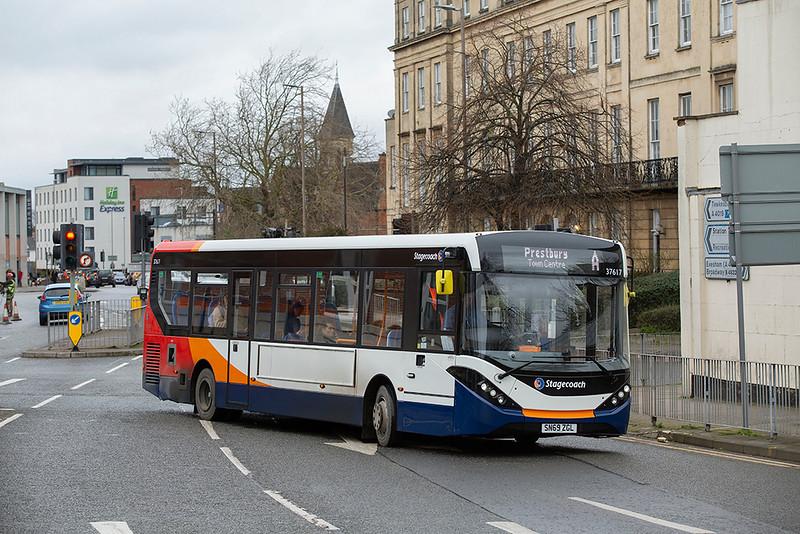37617 SN69ZGL, Cheltenham Spa 31/1/2020