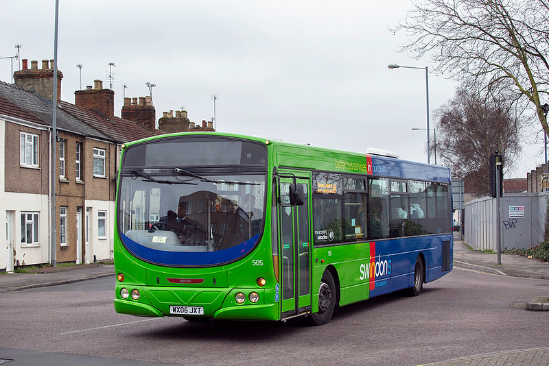505 WX06JXT, Swindon 31/1/2020