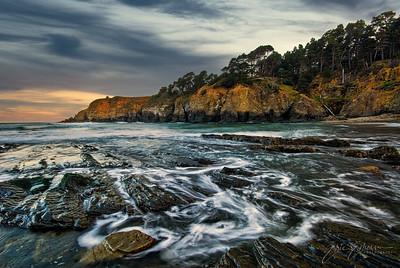 Stump Beach Cove Sunrise
