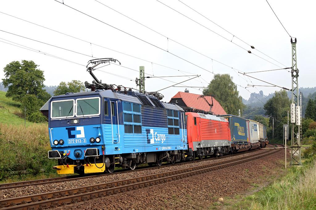 372013 and 189007, Kurort Rathen 21/9/2017