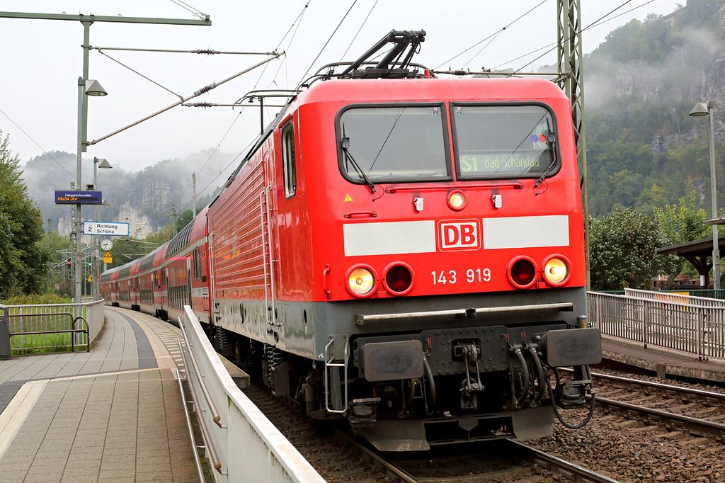 143919 Kurort Rathen 21/9/2017<br /> S1 0717 Meißen Triebischtal-Bad Schandau