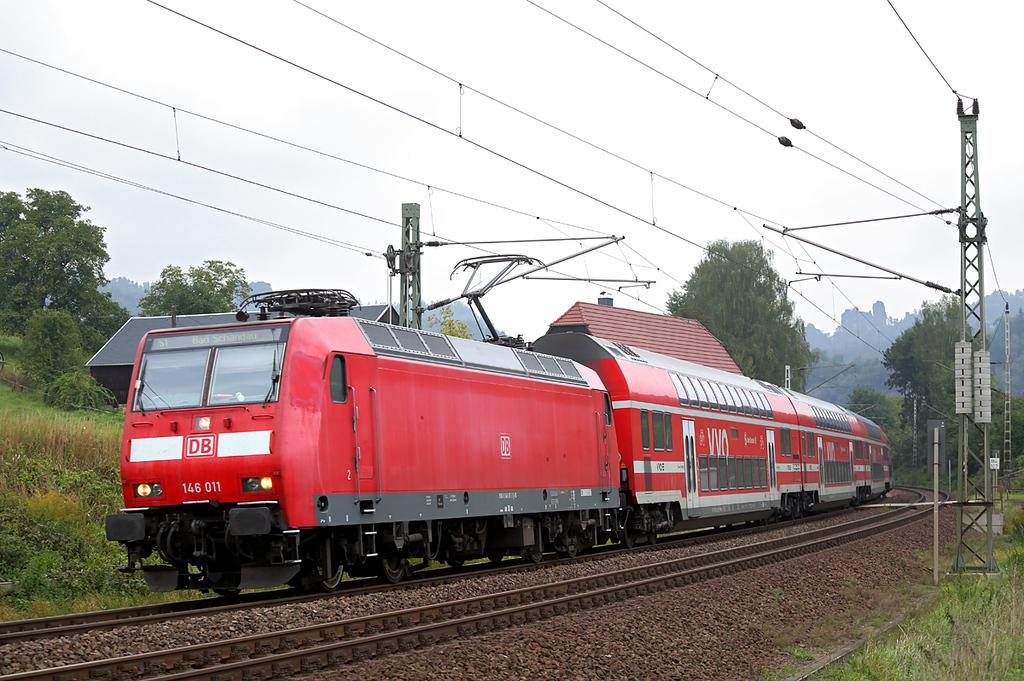146011 Kurort Rathen 21/9/2017<br /> S1 1017 Meißen Triebischtal-Bad Schandau