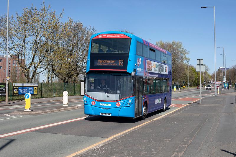 40779 MX70ANR, Manchester 22/4/2021