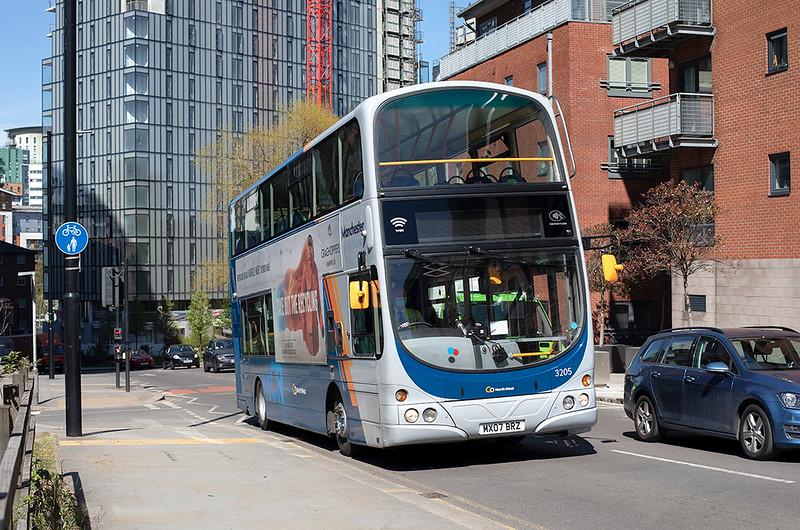 3205 MX07BRZ, Manchester 22/4/2021