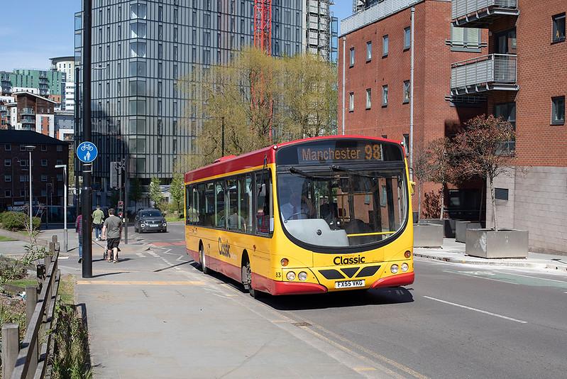 83 FX55VKG, Manchester 22/4/2021