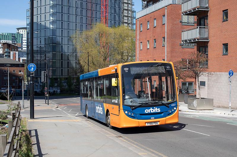 4017 YY66PDU, Manchester 22/4/2021