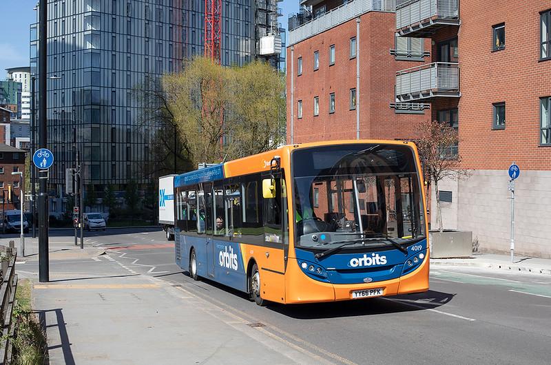 4019 YY66PFK, Manchester 22/4/2021