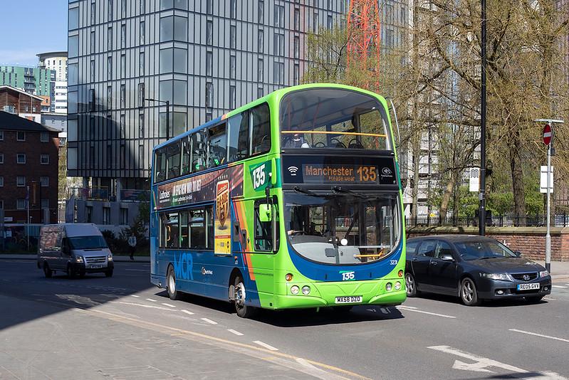 3231 MX58DZO, Manchester 22/4/2021