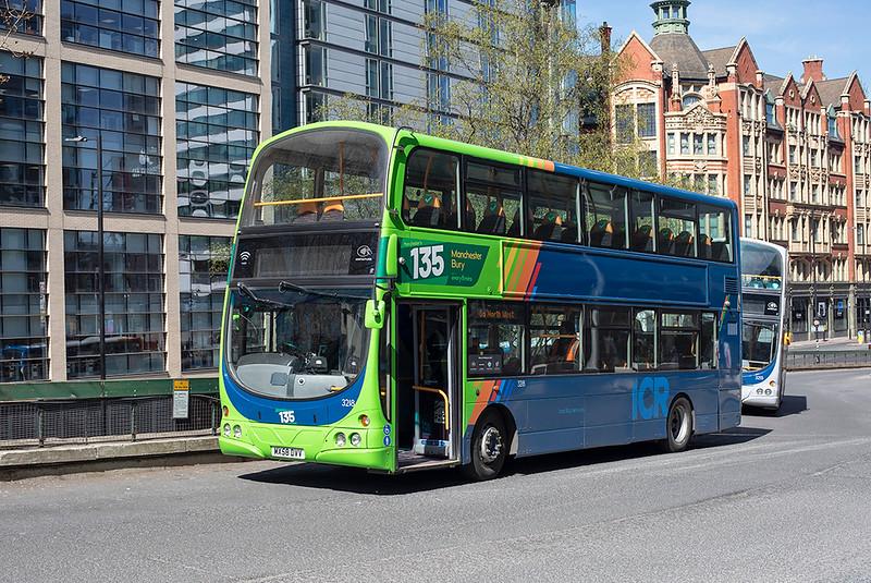 3218 MX58DVV, Manchester 22/4/2021