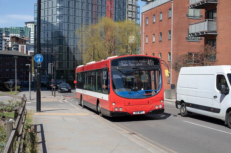 G16MPT, Manchester 22/4/2021