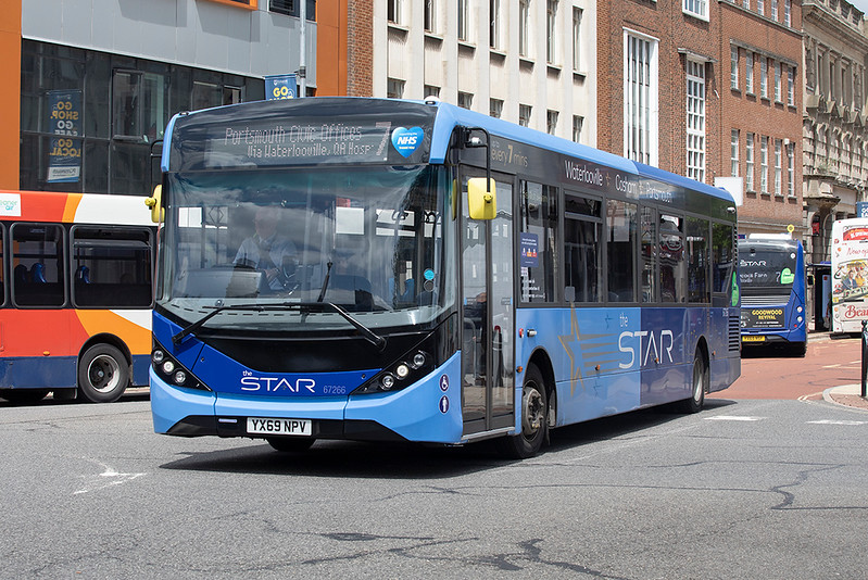67266 YX69NPV, Portsmouth 23/6/2021