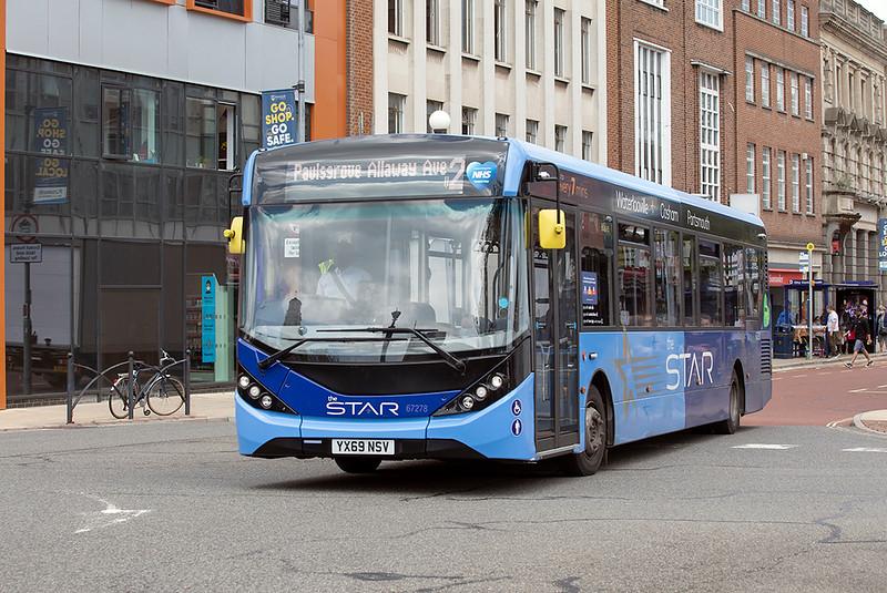 67278 YX69NSV, Portsmouth 23/6/2021