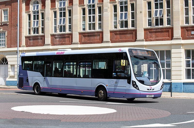 63381 SL16RCV, Portsmouth 23/6/2021