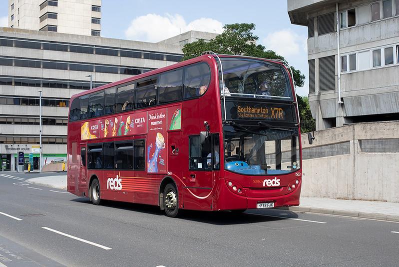 1503 HF59FAK, Southampton 23/6/2021