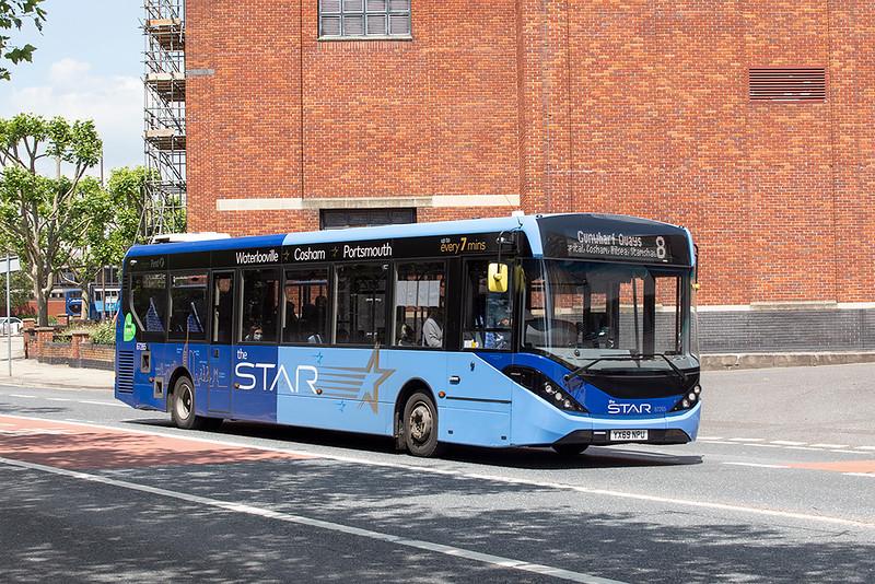 67265 YX69NPU, Portsmouth 23/6/2021