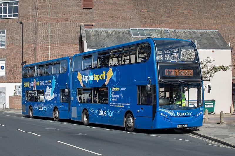 1566 HJ63JNX, Southampton 24/9/2021