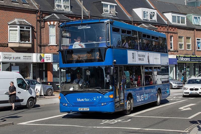 1125 HF58GZP, Southampton 24/9/2021