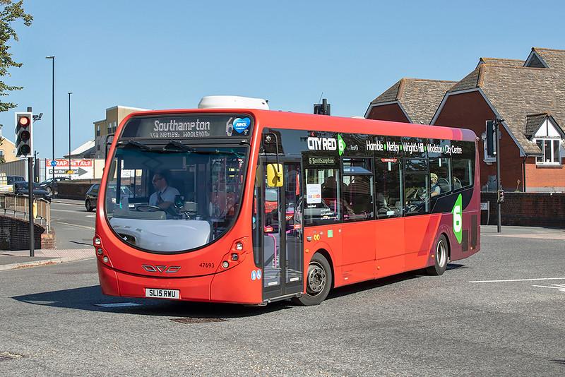 47693 SL15RWU, Southampton 24/9/2021
