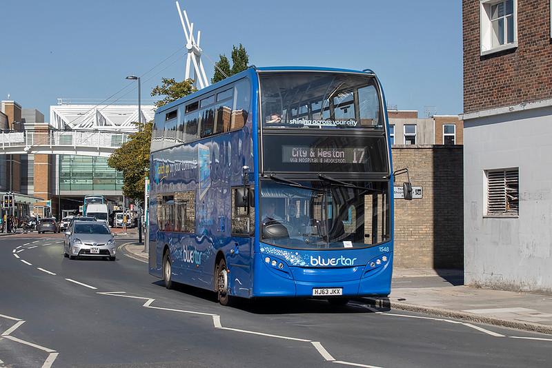 1548 HJ63JKX, Southampton 24/9/2021