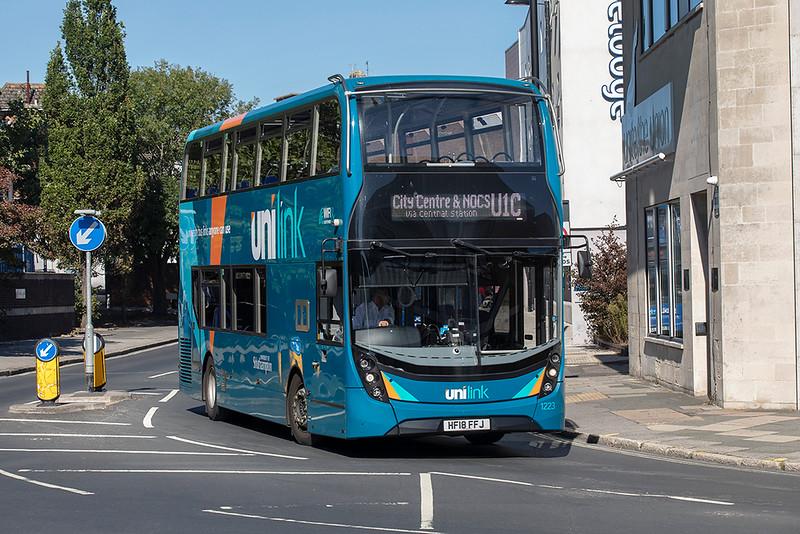 1223 HF18FFJ, Southampton 24/9/2021