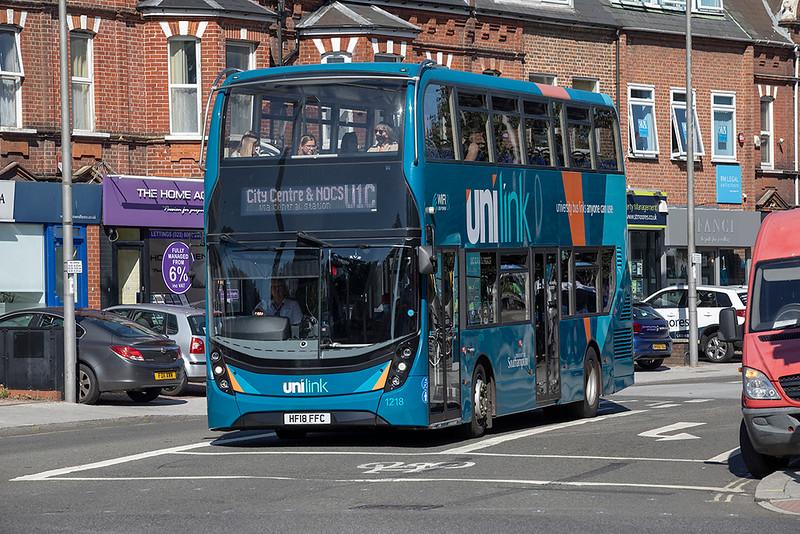 1218 HF18FFC, Southampton 24/9/2021