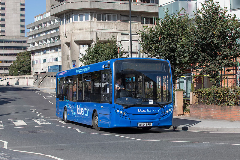2718 HF64BPU, Southampton 24/9/2021